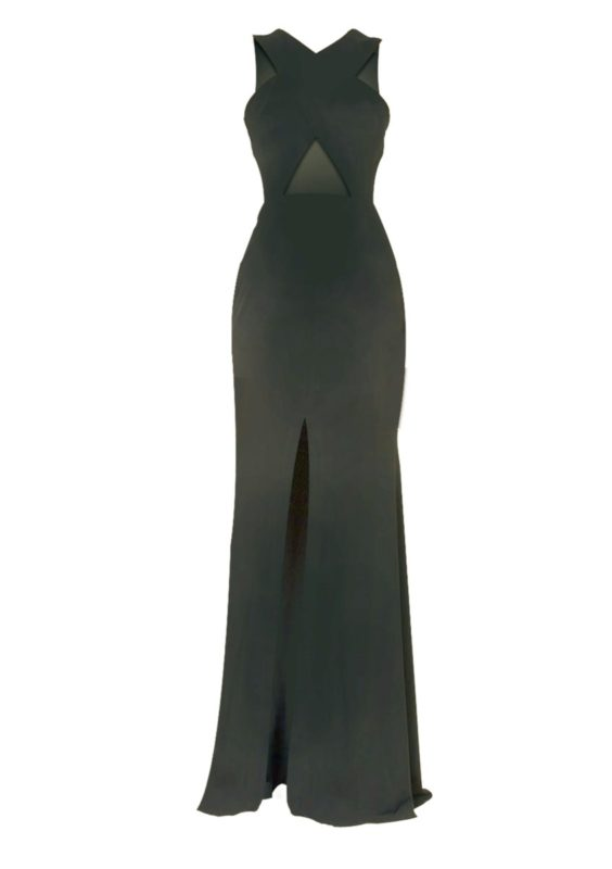 Alex Perry Black Sapphire Gown All The Dresses