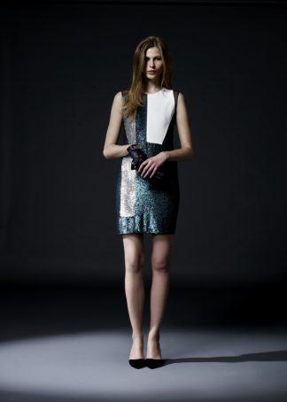 Sequin Dress Mini Hire Rent
