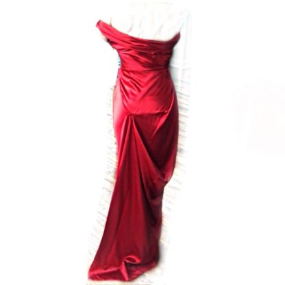 Vivienne Westwood Red Silk Gown Rent Hire