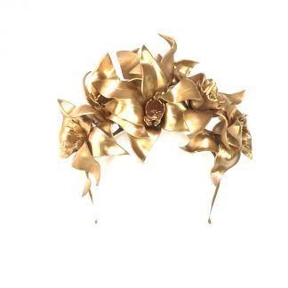 Murley & Co Millinery Daffodil Gold Rent Hire