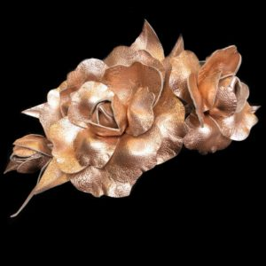 Millinery Jill Roses Rose Gold Rent Hire