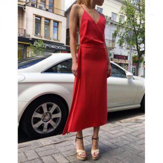 Alexis Slip Dress Pink Rent Hire