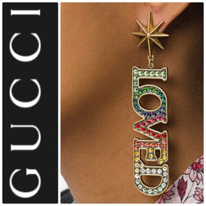 Gucci Loved Earrings Hire Rent