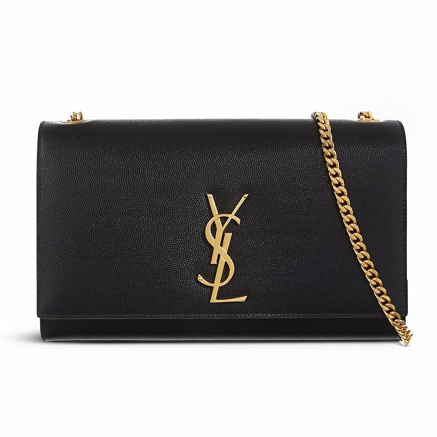 Saint Laurent - Classic Monogram Kate Medium Bag - Black  95134d424c1a7