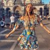 Dolce Gabbana majolica mini skirt