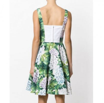 Dolce Gabbana Hydrangea Bustier Ortensia Dress Rent Hire