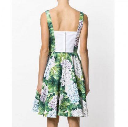 Dolce Gabbana Hydrangea Bustier Ortensia Dress Rent Hire