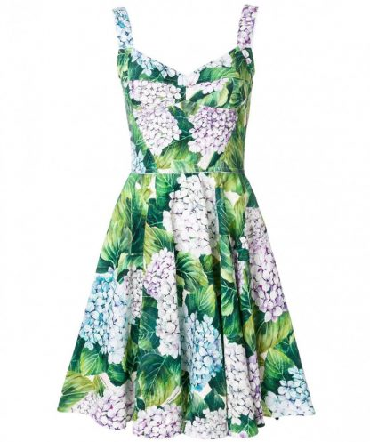 353727ab171 Dolce   Gabbana. Hydrangea Print Bustier Dress. Item Photo Item Photo. Rent  for  349