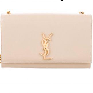 YSL Kate Medium Power gold bag Hire Rent
