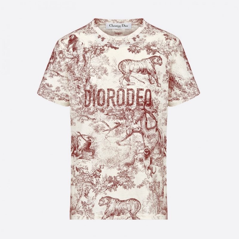Dior - Diorodeo 2019 t-shirt - Burgundy  cd55280dd11
