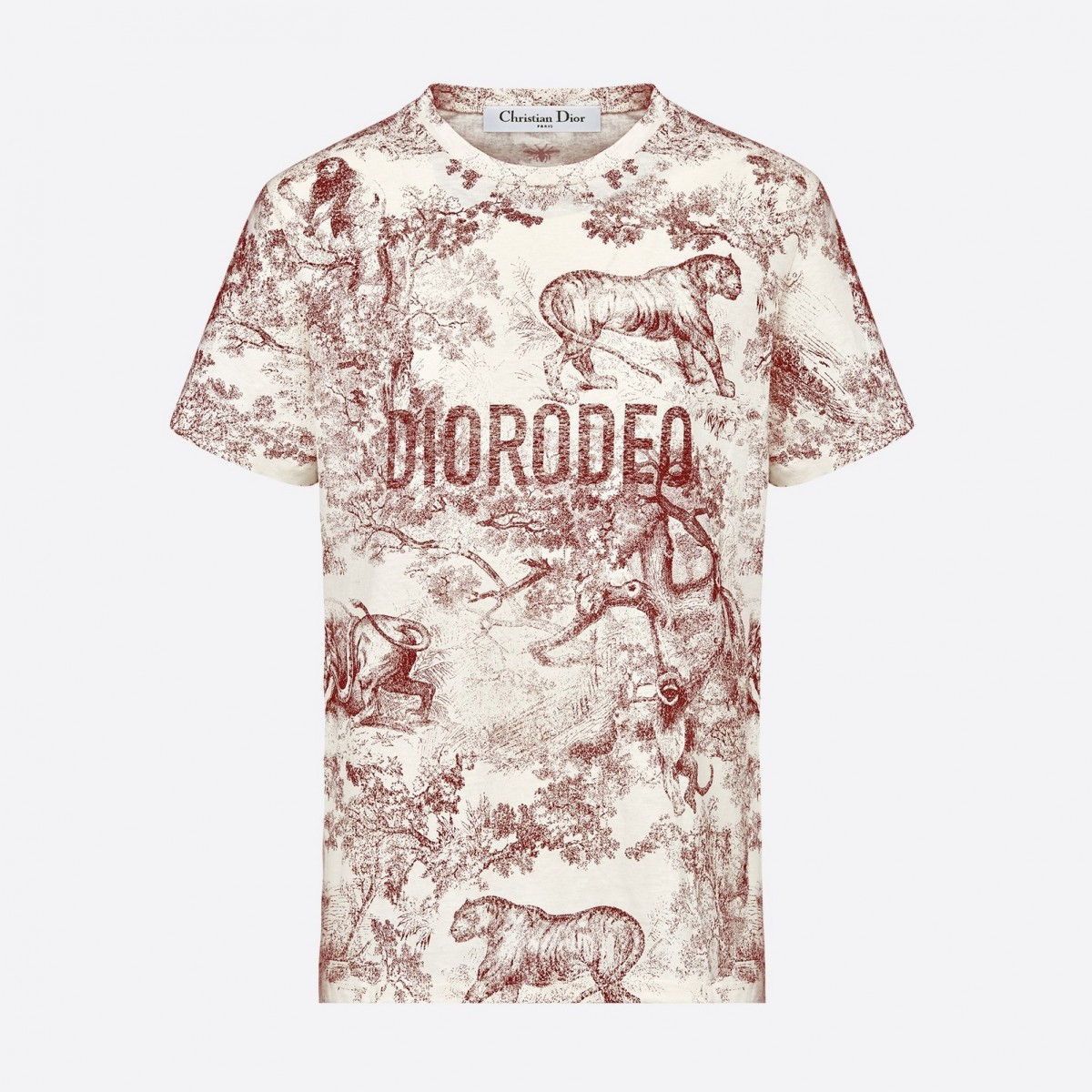 0deb5df39ef DIOR Diorodeo 2019 t-shirt – Burgundy – Designer Dress Hire Australia