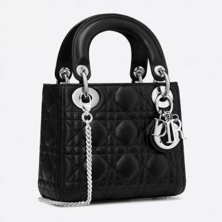 Lady Dior Mini bag black Rent Hire