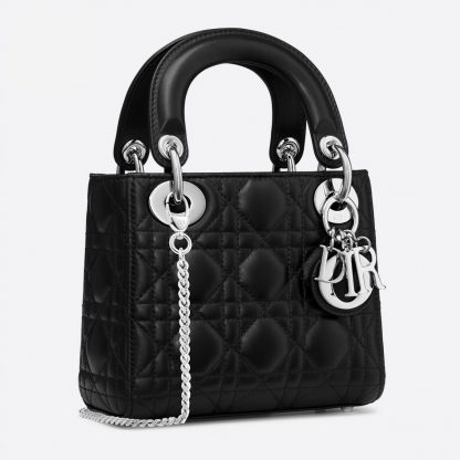 Lady Dior Mini bag black Rent Hire