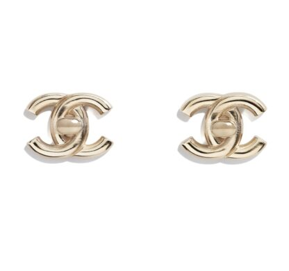 Chanel Turnkey clip on gold earring rent hire