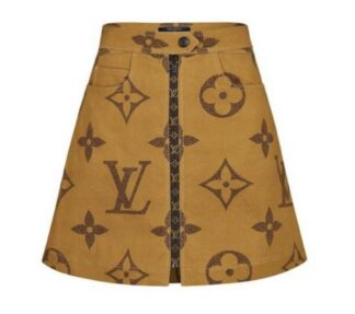 Louis Vuitton - LV Monogram Giant Logo Skirt Hire Rent